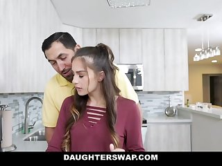 DaughterSwap - Slutty Besties Fuck Eachothers Dads